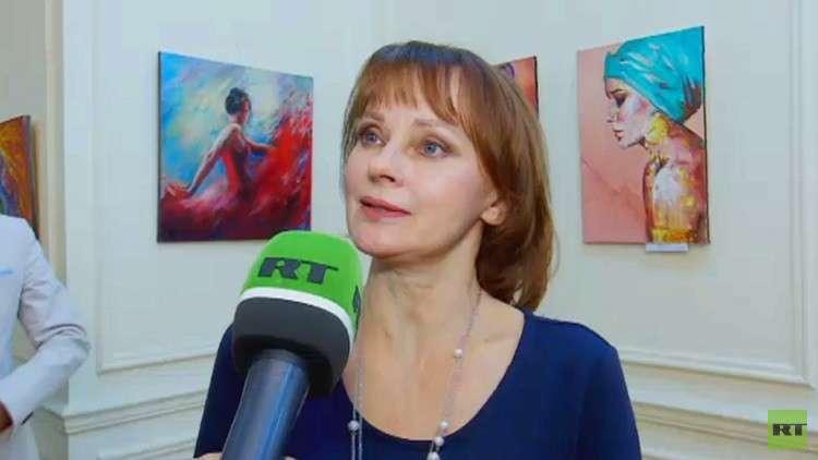 """""""العالم حولنا"""" معرض روسي بنكهة مصرية"""