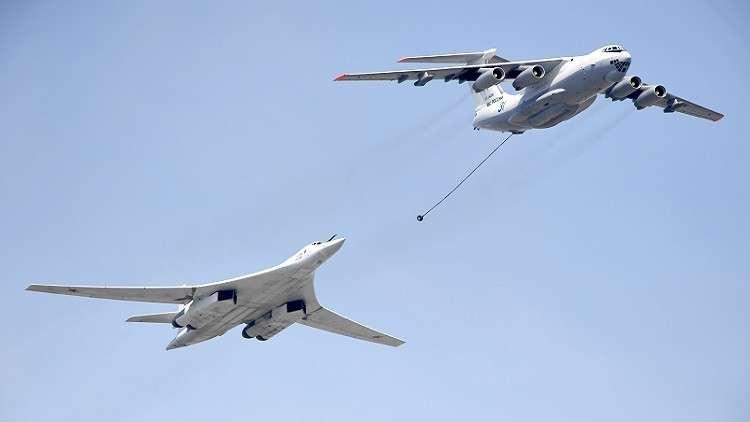 مشاهد لتدريبات الطيران الاستراتيجي الروسي