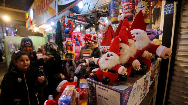 العراق يعلن عيد الميلاد المجيد عطلة رسمية