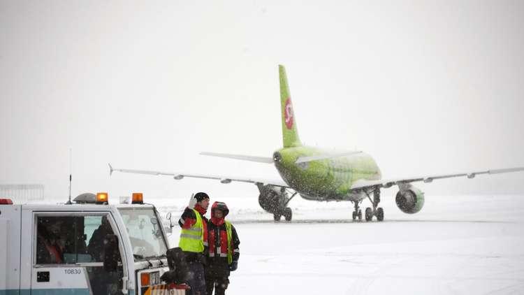 إلغاء وتأجيل أكثر من 80 رحلة طيران في مطارات موسكو