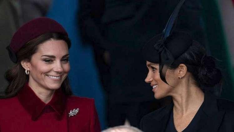 هل تهدد كيت ميدلتون عرش طفل ميغان ماركل في 2019؟