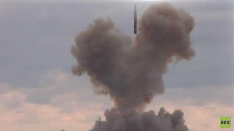 روسيا تختبر بنجاح صاروخ أفانغارد الجديد