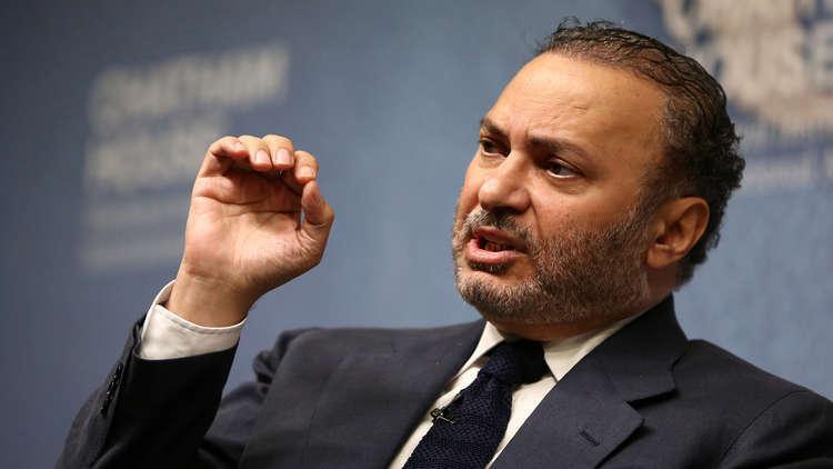 قرقاش: إعادة فتح سفارة الإمارات لدى سوريا ضرورة أمام التغول الإيراني التركي
