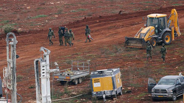 جنود إسرائيليون يشاركون في عملية