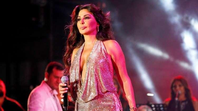 المغنية اللبنانية إليسا، بيروت، لبنان، 10 أغسطس 2018