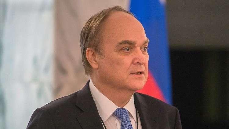 السفير الروسي بواشنطن أناتولي أنطونوف
