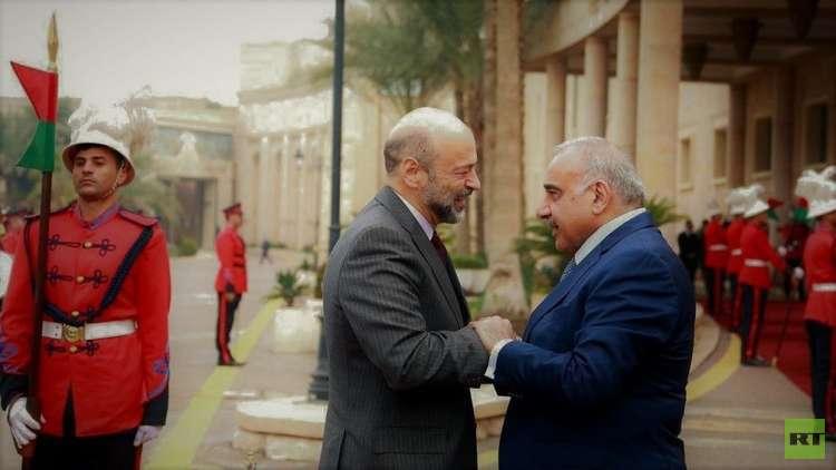 بغداد وعمان تبحثان إقامة منطقة صناعية على الحدود بين البلدين
