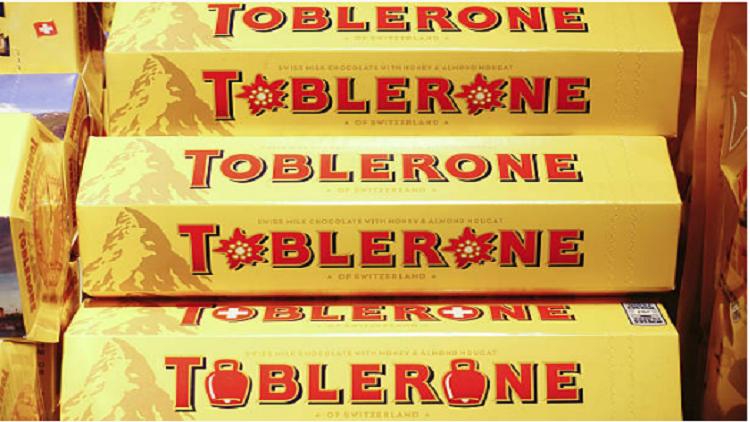 اكتشاف صورة مخفية في شعار شوكولاته سويسرية شهيرة