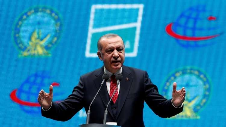 أردوغان يحضر حفل افتتاح مطار اسطنبول الجديد، 29 أكتوبر 2018
