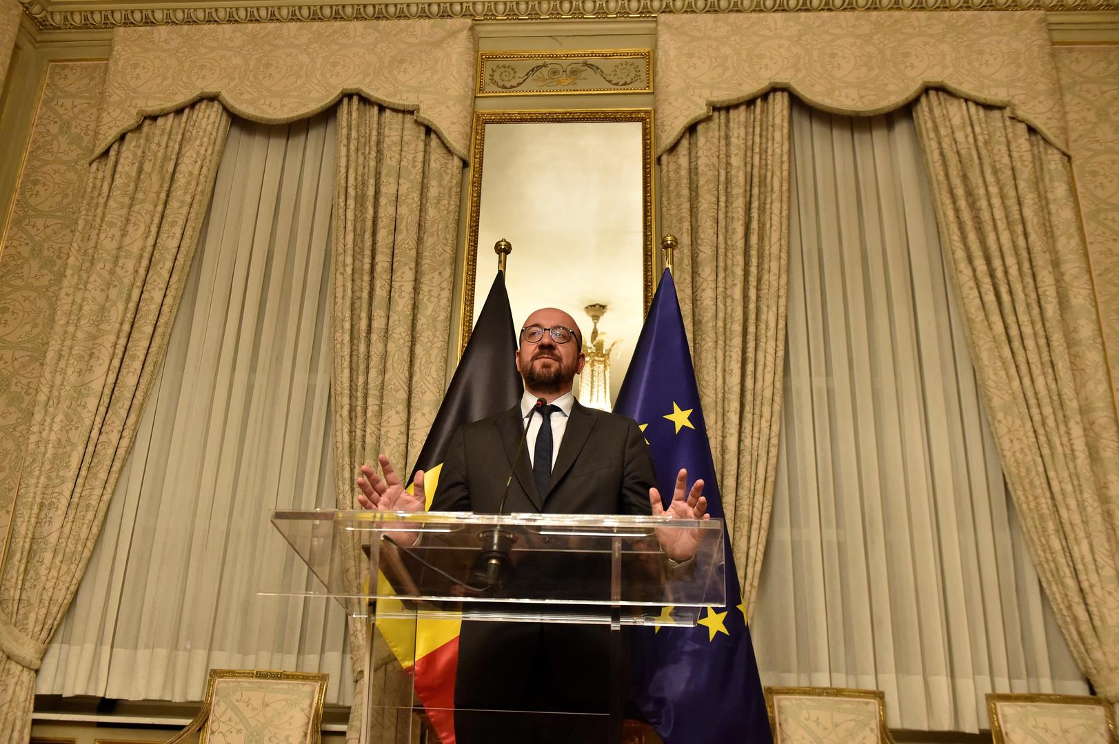 استقالة رئيس الحكومة البلجيكية جراء خلافات بشأن الهجرة
