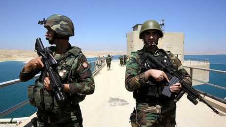 عناصر من القوات  العراقية في الموصل - أرشيف -