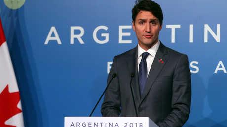 رئيس الوزراء الكندي، جاستين ترودو