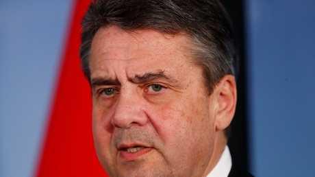 وزير الخارجية الألماني السابق سيغمار غابرييل، برلين، 8 مارس 2018