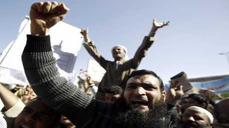 تظاهرة للجماعة الإسلامية في القاهرة