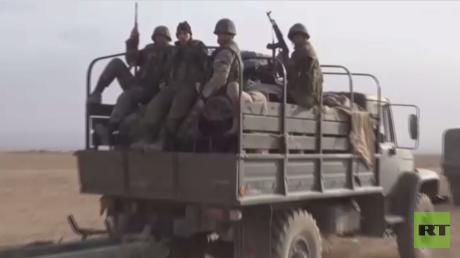 التحالف يقصف مواقع للجيش السوري بالسخنة