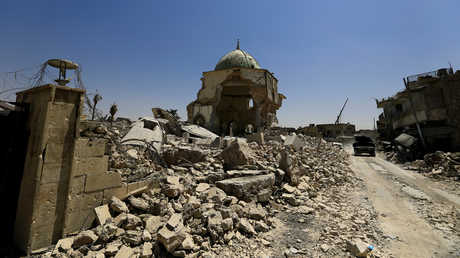 أنقاض في مدينة الموصل