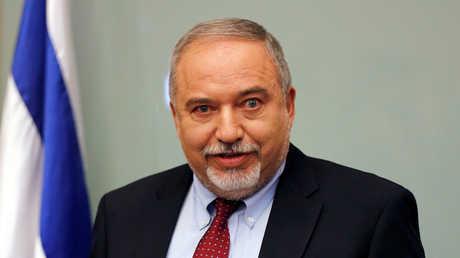وزير الدفاع الإسرائيلي السابق، أفيغدور ليبرمان