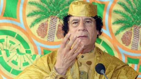معمر القذافي 2005