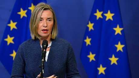 مفوضة السياسة الخارجية بالاتحاد الأوروبي فيديريكا موغيريني