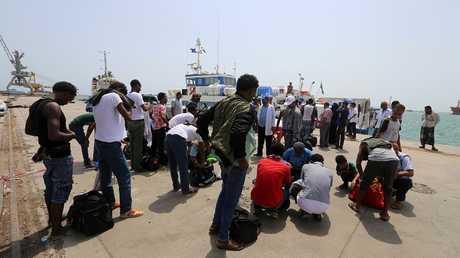 مهاجرون من إثيوبيا في اليمن - أرشيف -