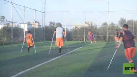 فرق رياضية من غزة تتحدى المستحيل