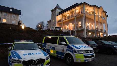 قلعة في ريمبو على بعد حوالي 50 كم إلى الشمال من العاصمة السويدية ستوكهولم حيث من المتوقع أن تجري محادثات السلام اليمنية
