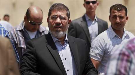 الرئيس المصري الأسبق محمد مرسي - أرشيف -