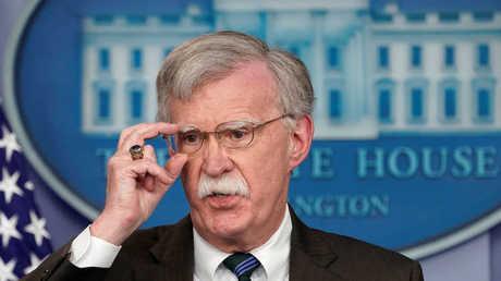 مستشار الرئيس الأمريكي للأمن القومي، جون بولتون