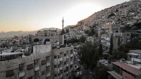 مشهد دمشق