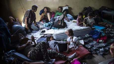 مهاجرون من هندوراس في المكسيك