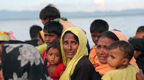 لاجئون من الروهينغا (صورة أرشيفية)