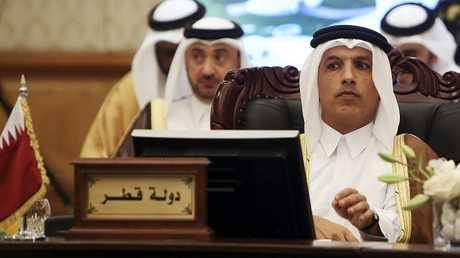 وزير المالية القطري علي شريف العمادي - الكويت 6 نوفمبر 2018