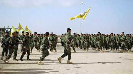 عناصر من قوات سوريا الديمقراطية - أرشيف -