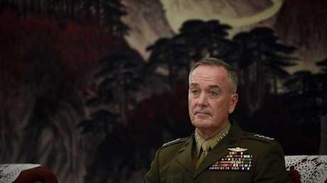 الجنرال جوزيف دانفورد رئيس هيئة الأركان المشتركة