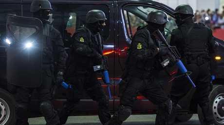 قوات الأمن المغربي