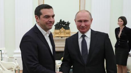 بوتين: اليونان شريك مميز وسندعمها مهما كانت الظروف