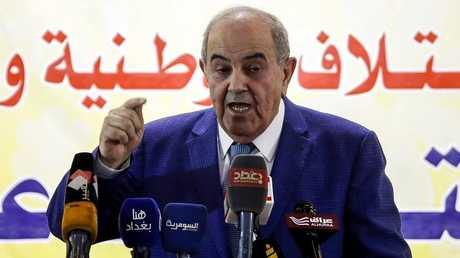 زعيم ائتلاف الوطنية العراقي إياد علاوي