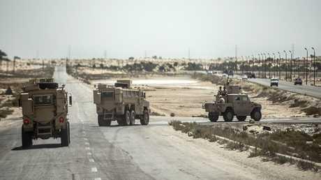 قوات الأمن المصري في سيناء