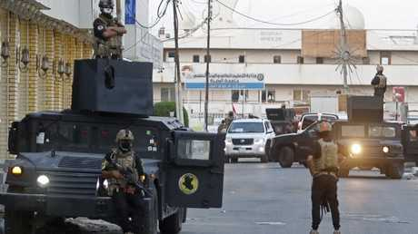 قوات الأمن العراقي في محافظة البصرة