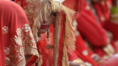 حفلة زفاف في الهند - أرشيف