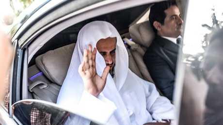 المدعي العام السعودي سعود المعجب في إسطنبول، 30 أكتوبر 2018