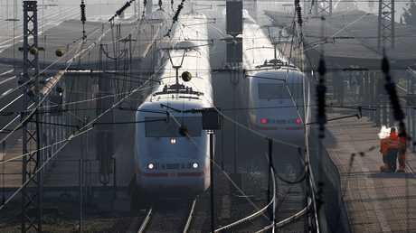 قطارات في ألمانيا