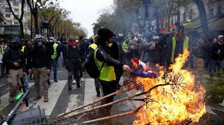 لاغارد: احتجاجات فرنسا ستؤثر سلبا على الاقتصاد والحل في الحوار