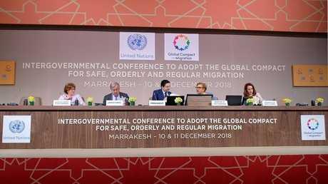 تبني ميثاق الأمم المتحدة للهجرة في مراكش