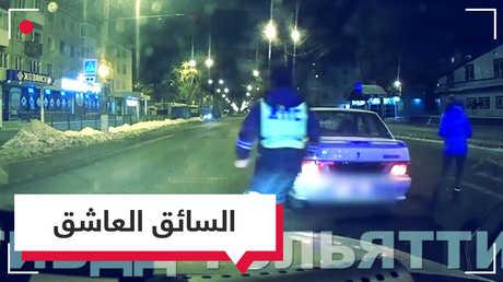 بالفيديو.. سائق