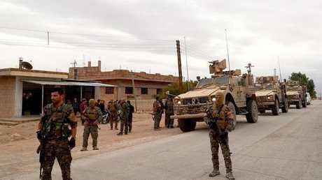 مسلحون اكراد في شرق الفرات