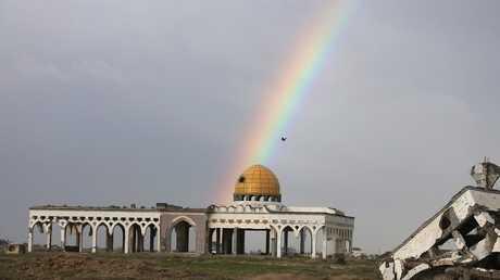 أطلال مطار غزة الدولي