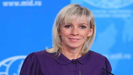 المتحدثة باسم الخارجية الروسية، ماريا زاخاروفا،