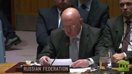مندوب روسيا لدى الأمم المتحدة فاسيلي نيبينزيا