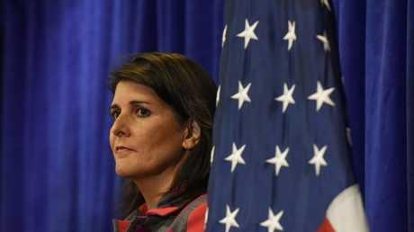 مندوبة الولايات المتحدة الدائمة في الأمم المتحدة نيكي هايلي